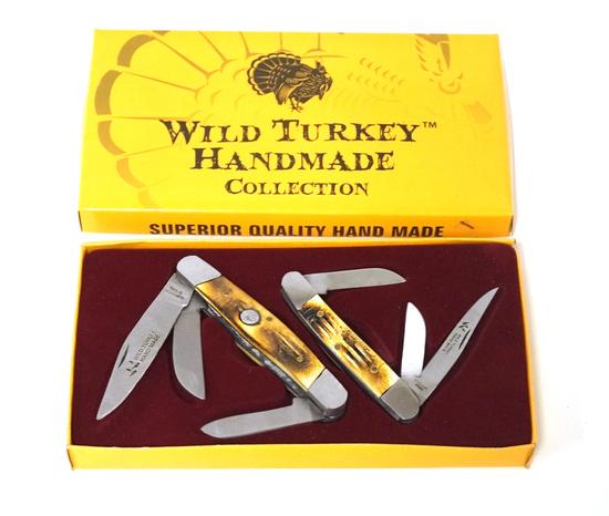 Wild Turkey Handmade Collection Pocket Knives