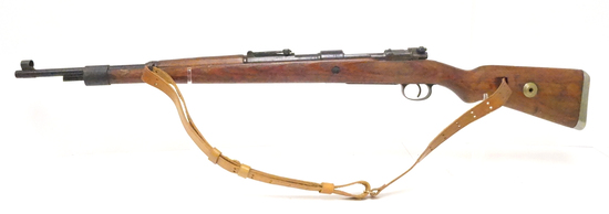 "WWII German Nazi Mauser K98 Code ""bcd/42"" 7.65mm Bolt Action Rifle"