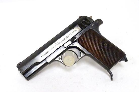 Hungarian Femaru FEG 37M .32 Auto Semi-Automatic Pistol