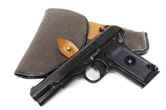 Norinco Chinese Tokarev Model 54-1 7.62mmx25 Semi-Automatic Pistol w/ Holster
