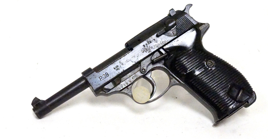 WWII Mauser BYF 44 P38 9mm Semi-Automatic German Nazi Pistol