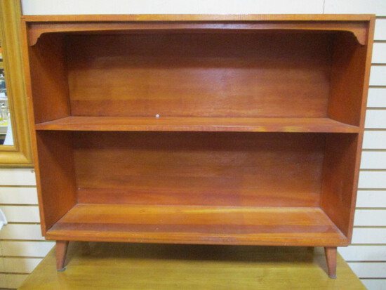 Hand Crafted Wood Bookcase