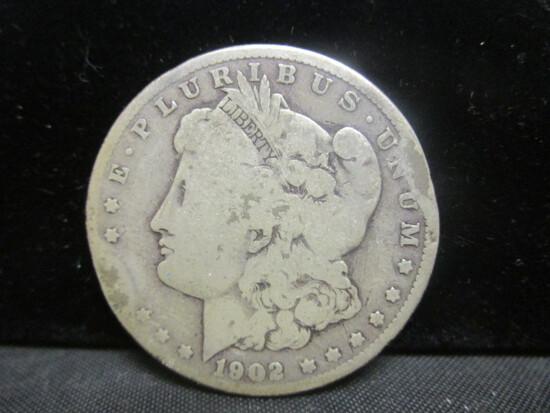 1902O Morgan Silver Dollar