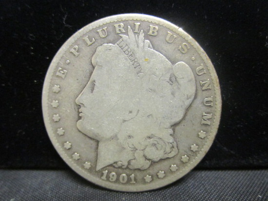 1901S Morgan Silver Dollar