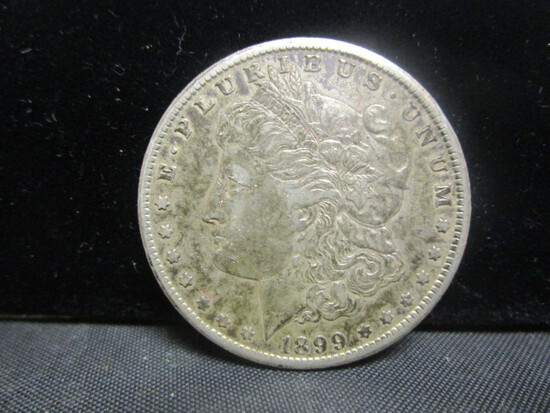 1899O Morgan Silver Dollar