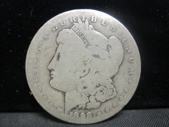 1898S Morgan Silver Dollar