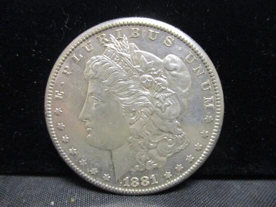 1881S Morgan Silver Dollar
