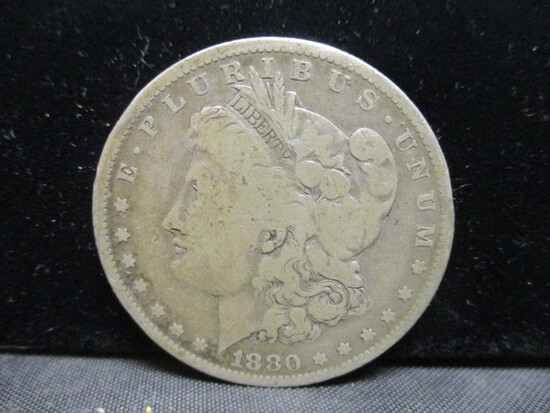 1880O Morgan Silver Dollar