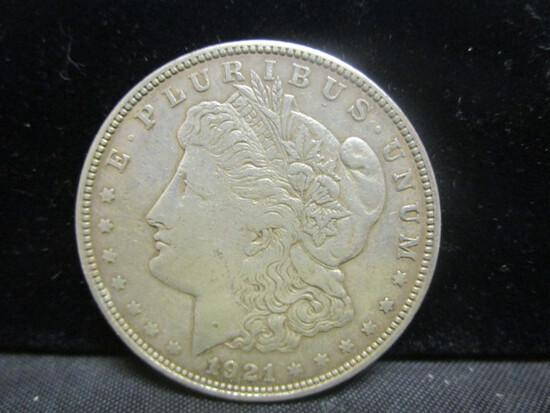 1921D Morgan Silver Dollar