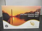 2016 US Mint Proof Set