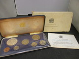 1972 Jamaica Proof Set w/ COA from Franklin Mint