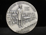 Lincoln's Gettysburg Address Centennial .999 Pure Silver 5 toz. Ingot