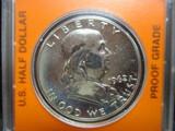 1962 Franklin Half Dollar- Proof Grade