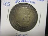 1892 Columbian Expo Comm. Half Dollar