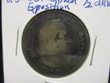 1893 Columbian Expo Comm. Half Dollar
