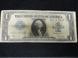 1923 $1 Blue Seal Silver Certificate