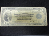 1914 $1 Series of 1918 Bank of NY Federal Note