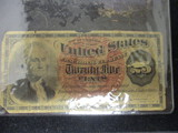 1863 25 Cent Fractional Currency