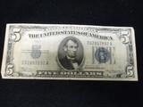 1934 $5 Blue Seal