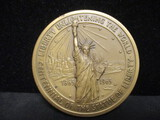 1965 Centennial of the Statue of Liberty Bronze Medal