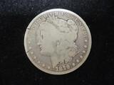 Morgan Silver Dollar-1879