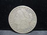 1883CC Morgan Silver Dollar