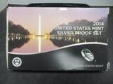 2014 US Mint Silver Proof Set