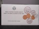 1989 US Mint UNC Coin Set- P&D