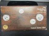 1985 US Mint UNC Coin Set- P&D