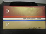 1984 US Mint UNC Coin Set- P&D