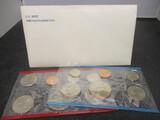 1980 US Mint UNC Coin Set- P&D