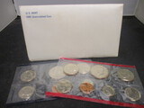 1981 US Mint UNC Coin Set- P&D