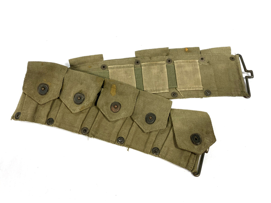 WWII M1 Garand Cartridge Belt