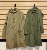 Pair of Military Style Trench Coats