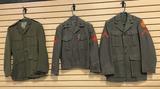 3 USMC Jackets