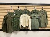 Group of Vietnam Era Jackets and 2 Pants