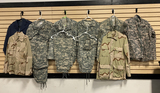 Group of Newer Military Clothing - BCUs and More