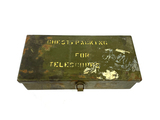 WWII Chest, Packing, M7 Telescopes Metal Box