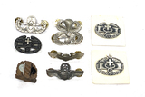 Group of Military Pins and Badges