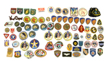 Large Group of Various Patches