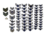 Large Group of Enlisted Air Force Insignia Patches