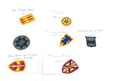 Group of Vietnam Army Patches