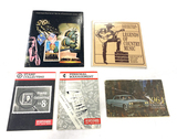 Various Stamps and 1964 Chevy Owners Guide