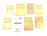 Various Military Field Manuals