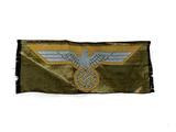 German Nazi Eagle Ribbon Patch