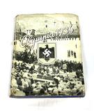 Original German Nazi Olympia 1936 Band 1 Hardcover Book