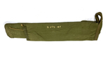6' Green Canvas Rifle Carrying Case Marked