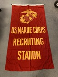 USMC Recruiting Flag by Valley Forge Flag Co.