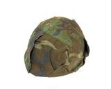 Vietnam Era M1 Helmet with Camouflage Cover & Chinstrap