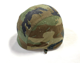 1986 Vintage US Army Issue Kevlar Unicor Pasgt Helmet w/ Camo Cover/Liner